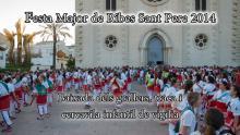 Sant Pere 2014 - Baixada dels grallers i cercavila infantil de vigília